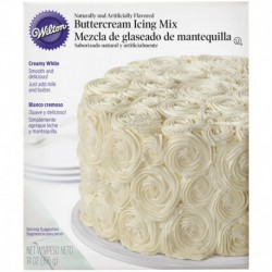 WHITE DECOR ICING MIX