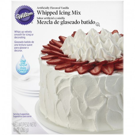 WHIPPED ICING VANILLA