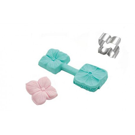 MINI FLOWER Cutter and Silicone Mould