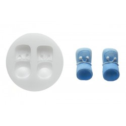 BABY SHOES SILICONE MOULD