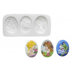 WOMEN PORTRAITS AND LOVERS SILICONE MOULD