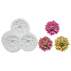 CHRYSANTEMUM SILICONE MOULD