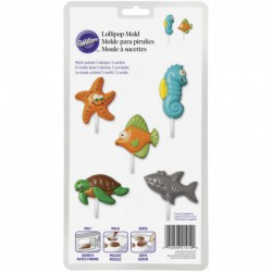 SEA CREATURES CANDY MOLD