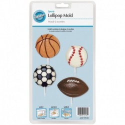SPORTS LARGE LOLLIPOP MOLD