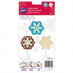SNOWFLAKE LRG LOLLIPOP MOLD