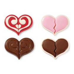 DOUBLE HEART COOKIE MOLD