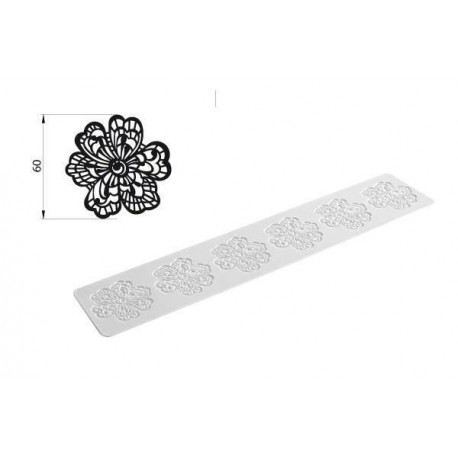 FLOWER TRICOT DECOR-TRD03