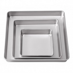 3 PC SQUARE PAN SET