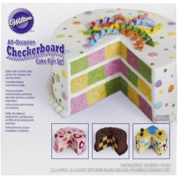 CHECKERBOARD CAKE SET