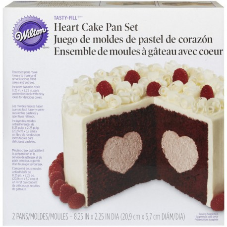 HEART TASTY FILL PAN SET