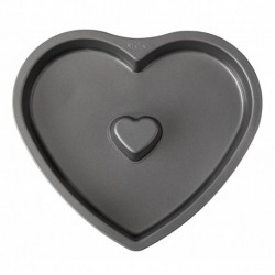 FLUTED HEART CAKE PAN