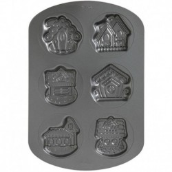 GB VILLAGE COOKIE PAN 6 CAV