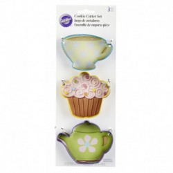 TEA PARTY 3PC CC SET