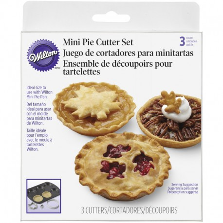 CC SET MINI PIE CRUST 3PC