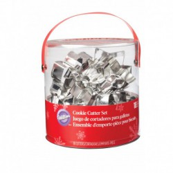 HOLIDAY METAL CUTTER SET 18PC