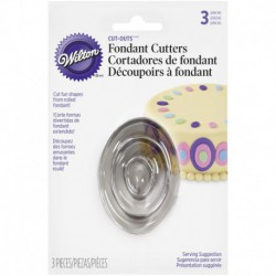 OVAL CUT OUTS 3 PACK