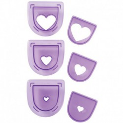 HEARTS CUTTING INSERT SET