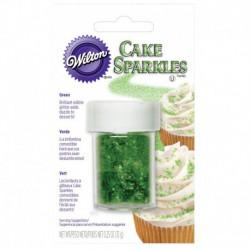 GREEN CAKE SPARKLES