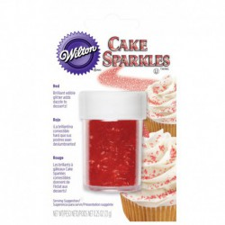 RED CAKE SPARKLES