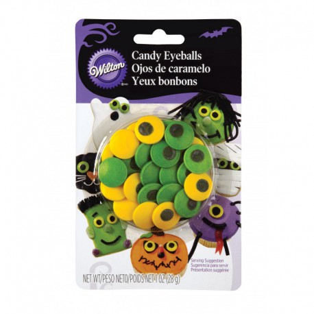 SPOOKY LARGE CANDY EYEBALLS