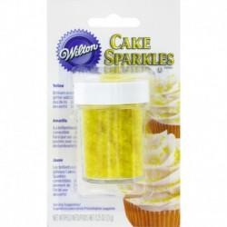 YELLOW CAKE SPARKLES