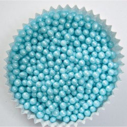 SUGAR PEARLS BLUE
