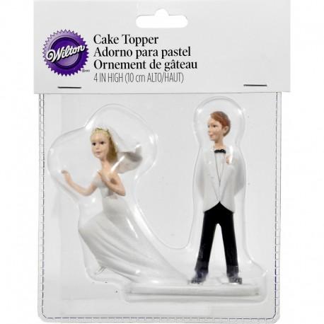RUNAWAY BRIDE HUMOROUS TOPPER
