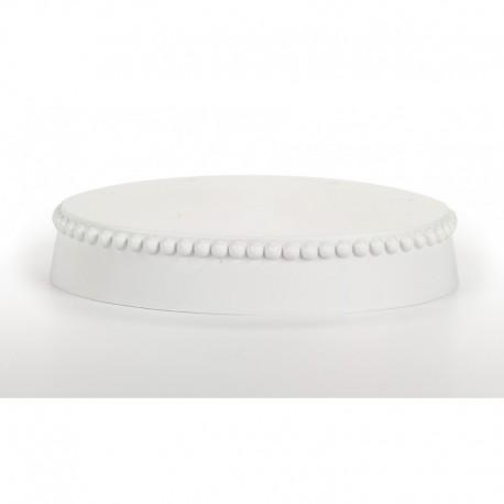 OVAL BASE WHITE