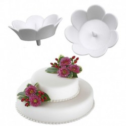 3PC FLOWER DISPLAY CUPS