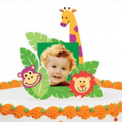 TOPPER CAKE FRAME JUNGLE PALS