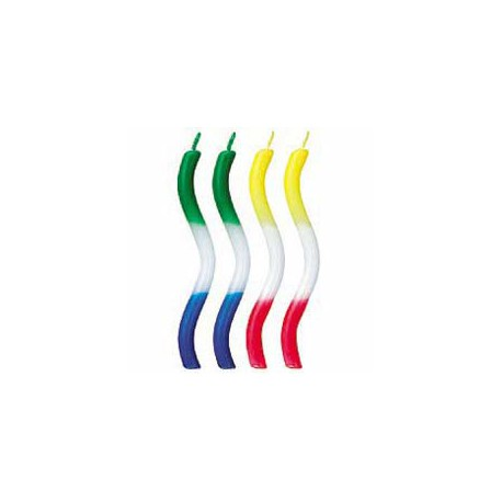 TRICOLOR CANDLES - RAINBOW