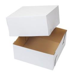 CAKE BOX CORRUGATE 12X12X6 2CT
