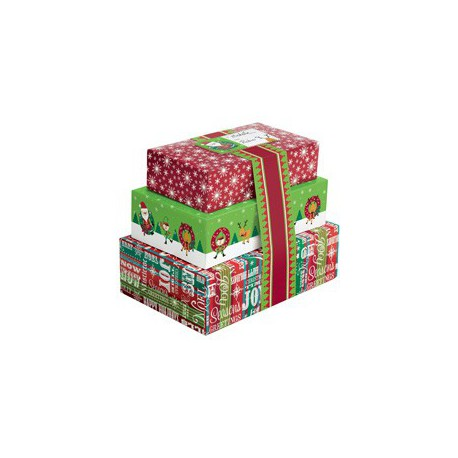 STACKED COOKIE BOX KIT 3CT