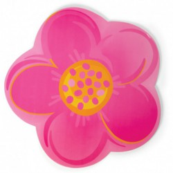 PLATTER FLOWER 12IN 3CT