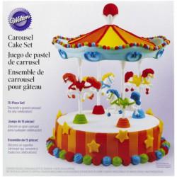 CAROUSEL CAKE DISPLAY SET