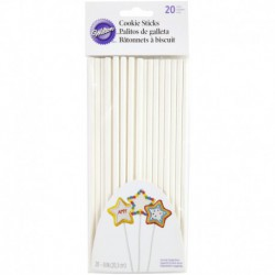 8IN COOKIE STICKS 20CT