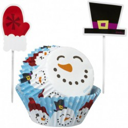 BAKING CUPS COMBO PACK MERRY AND SWEET