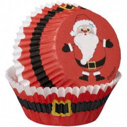 BAKING CUPS COMBO PACK SANTA