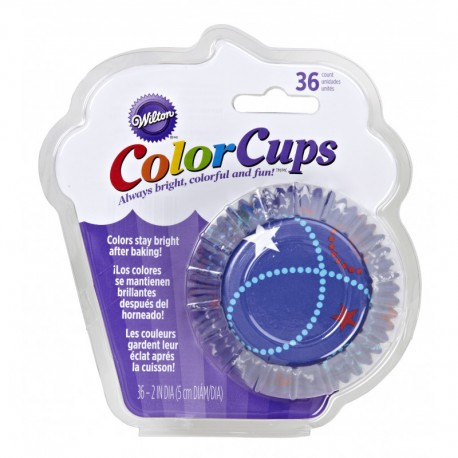 COLORCUP BLUE BAKING CUPS