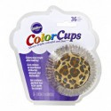COLORCUP LEOPARD BAKING CUPS