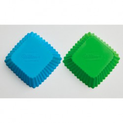 SQUARE SIL BAKING CUPS 12CT