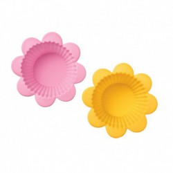 FLOWER SILICONE CUPCAKE CUPS