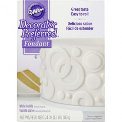 INTL DP WHITE FONDANT 24OZ