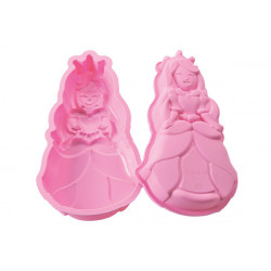 PINK SILICONE MOULD FAIRY PRINCESS IN GIFT BOX