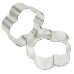 Rings petal stainless steel