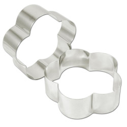 Rings petal stainless steel 18 (ga) 6