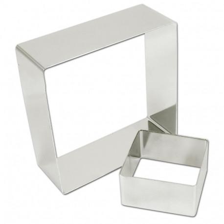 Rings square stainless steel 18 (ga) ?Ã??6 3/8' x 2'