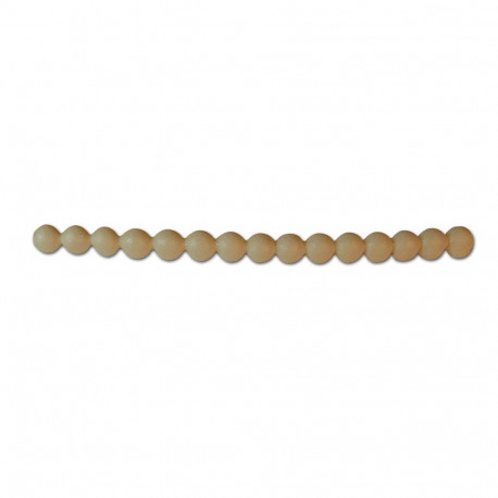 Silicone Bead Mold, Pearl string, 6mm x 155mm long