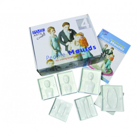 People Mould Set 4