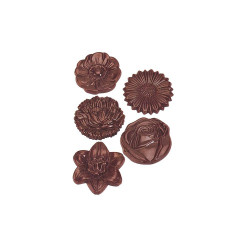 Polycarbonate Candy Mold, Flower Bouquet